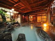 源泉100%かけ流しの客室露天風呂付き特別室(お宿 花かんざし)
