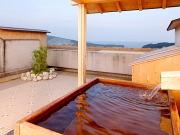 源泉かけ流し露天風呂付き客室(ホテルアルティア鳥羽)