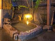 全室離れの源泉掛け流し露天風呂付客室(旅籠 hatago 香乃蔵)