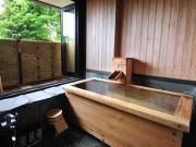 全室源泉100%掛け流しの露天風呂付客室(客室露天付き旅館 和み月)